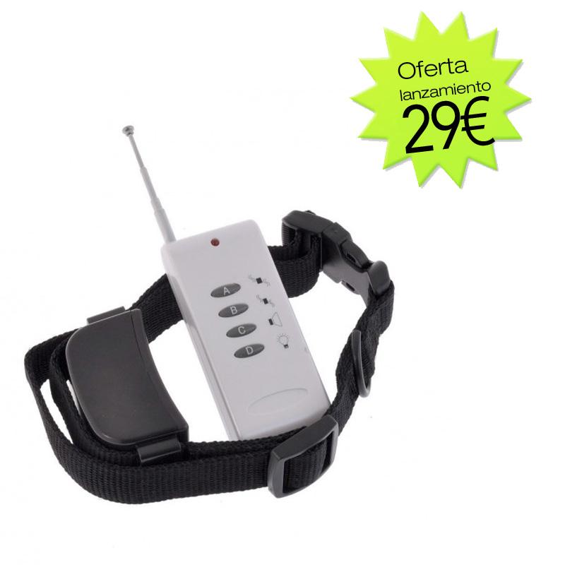 collar adiestramiento barato vibración y sonido
